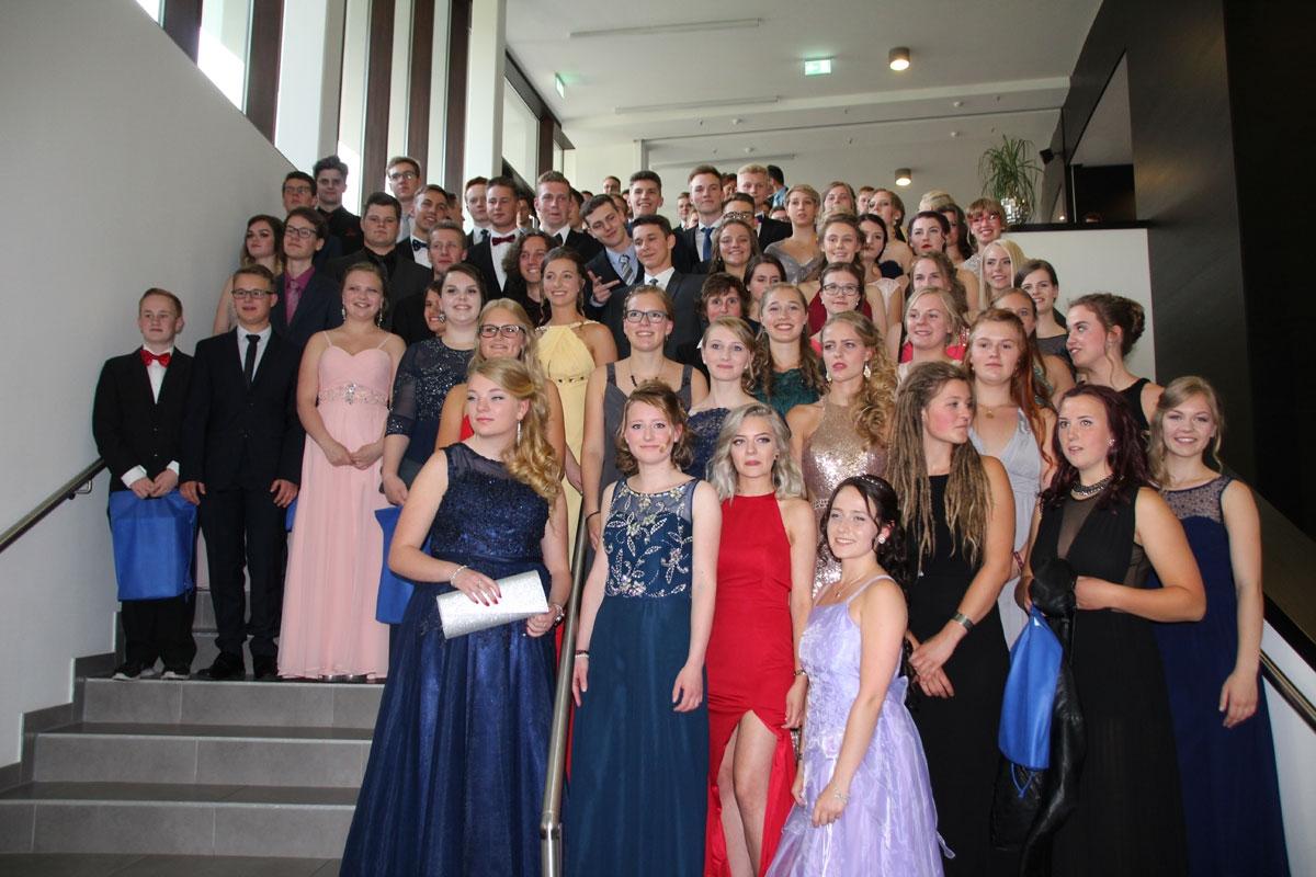 Abiturjahrgang 2017 feierlich verabschiedet
